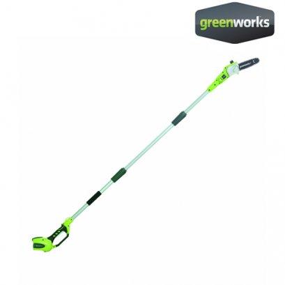 Greenworks เครื่องตัดกิ่งไม้สูงไร้สาย ขนาด 40V (เฉพาะตัวเครื่อง)