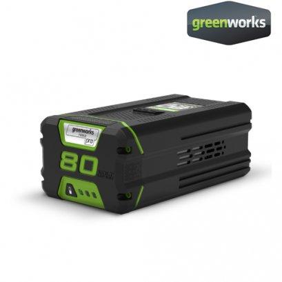 Greenworks แบตเตอรี่ ขนาด 80V, ความจุ 4 แอมป์