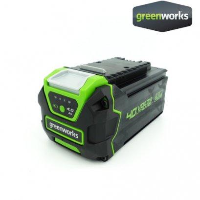 Greenworks แบตเตอรี่ ขนาด 40V, ความจุ 4 แอมป์