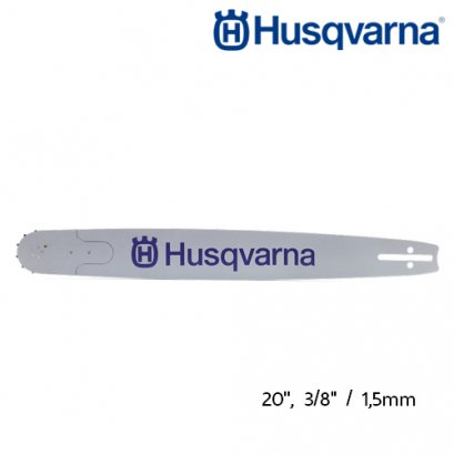 "Husqvarna Chainsaw Bar 20"", 3/8, 1.5mm."