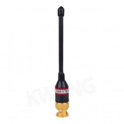 KYOWA เสาสปริงดำ 160 -170 MHz สั้น (ฺํBLACK)