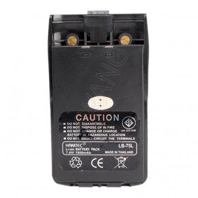 HAMTEC แบตเตอรี่วิทยุสื่อสาร IC-200C (BLACK)
