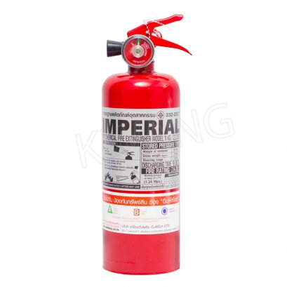 IMPERIAL  ถังดับเพลิงชนิดผงเคมีแห้ง 2 ปอนด์ สีแดง