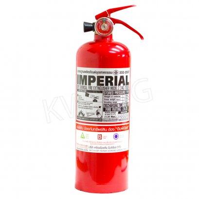 IMPERIAL ถังดับเพลิงชนิดผงเคมีแห้ง 5 ปอนด์ สีแดง