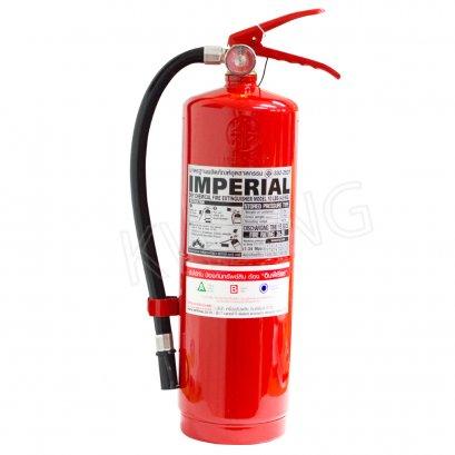 IMPERIAL  ถังดับเพลิงชนิดผงเคมีแห้ง 10 ปอนด์ สีแดง