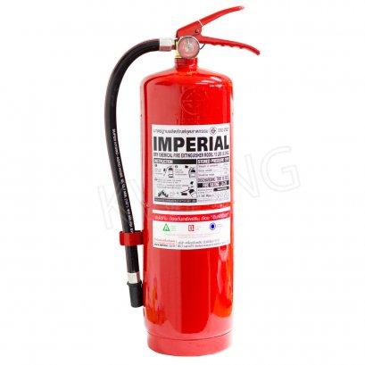 IMPERIAL  ถังดับเพลิงชนิดผงเคมีแห้ง 15 ปอนด์ สีแดง
