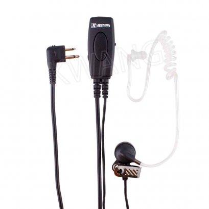 KYOWA ไมค์พร้อมหูฟัง  FBI ใช้สำหรับวิทยุสื่อสาร GP300 สีดำ