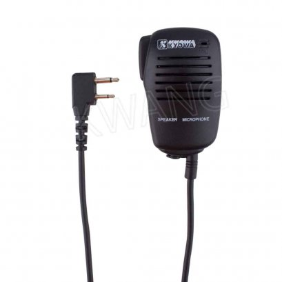 KYOWA ไมค์มือถือ ใช้สำหรับวิทยุสื่อสาร ICOM สีดำ