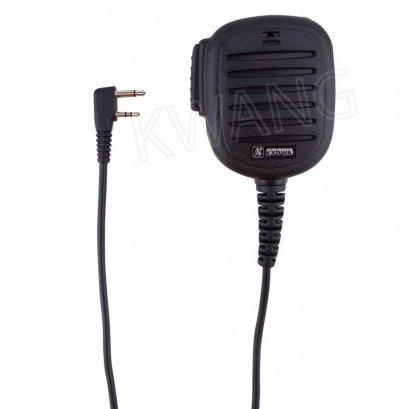 KYOWA ไมค์มือถือ ใช้สำหรับวิทยุสื่อสาร ICOM (กันน้ำ) สีดำ
