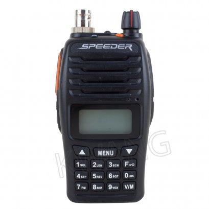 SPEEDER วิทยุสื่อสาร Walkie Talkie รุ่น SP-IP4 PLUS สีดำ