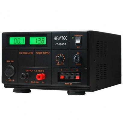 HAMTEC หม้อแปลงไฟฟ้า HT-120DS DIGITAL 20A สีดำ
