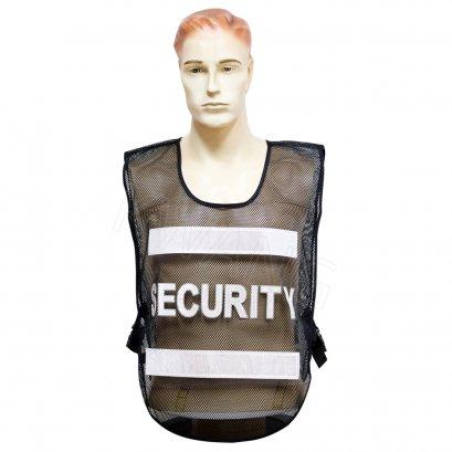 KYOWA เสื้อสะท้อนแสง SECURITY สีดำ (S01)
