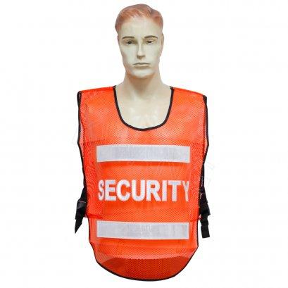 KYOWA เสื้อสะท้อนแสง SECURITY สีส้ม (S01)
