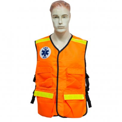 KYOWA เสื้อสะท้อนแสง EMS สีส้ม