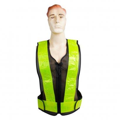 KYOWA เสื้อกั๊กตำรวจWRV8 สีเขียว
