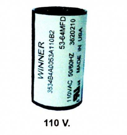 คอนเดนเซอร์สตาร์ทสองค่า 110V
