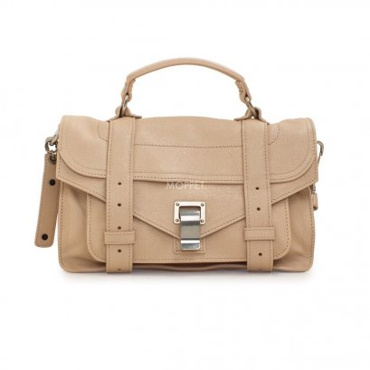 New Proenza Schouler PS1 Tiny in Nude Leather SHW