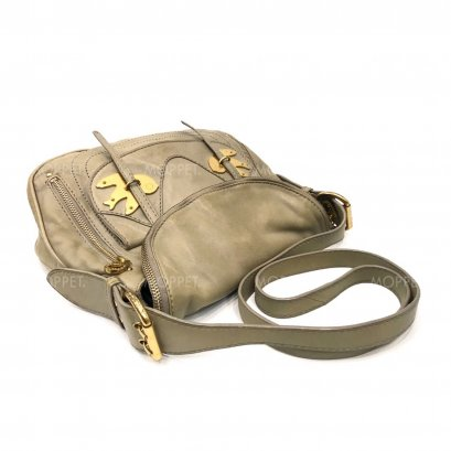 Used Marc By Marc Jacobs Crossbodybag in Grey Leather GHW