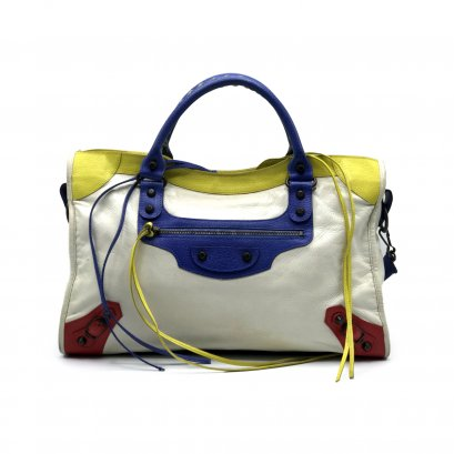 Used Balenciaga City Limited in Color Block RHW