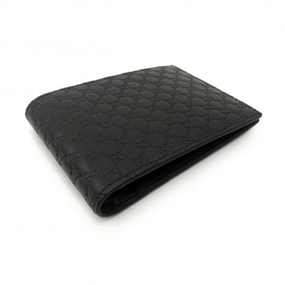 New Gucci GG Men's Wallet in Dark Brown Leather