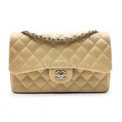 b7ee6365b85475 Used Chanel Classic Jumbo 12