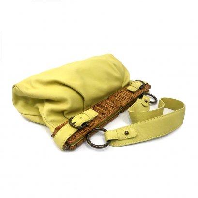b04313b70956ef Used Ferragamo Shoulder Bag in Lemon RHW