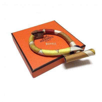 NEW Hermes Bracelet in Silk