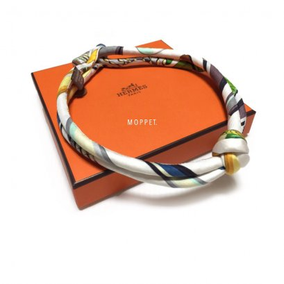 NEW Hermes Necklace in Silk