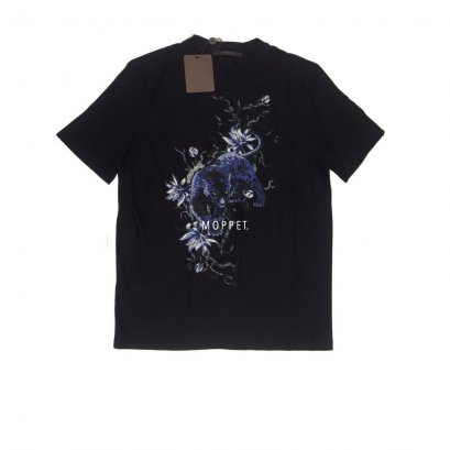 "New LV Black Panther T-Shirt Size M"" in Black Cotton"