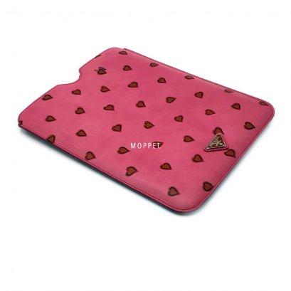 New Prada Saffiano IPad Case in Pink/Heart SHW