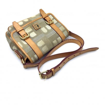 Used Bally Messenger in Signature Canvas GHW