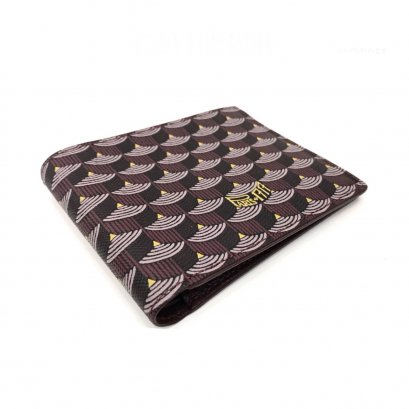 New Fuare Le Page Wallet 6 Card in Burgundy Leather