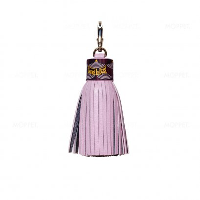 New Fuare Le Page Key Charm in Pink Leather SHW