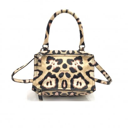 Used Givenchy Pandora Small in Jaguar Printed SHW