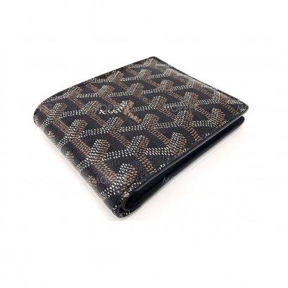 Used Goyard Men's Wallet in Black/Brown
