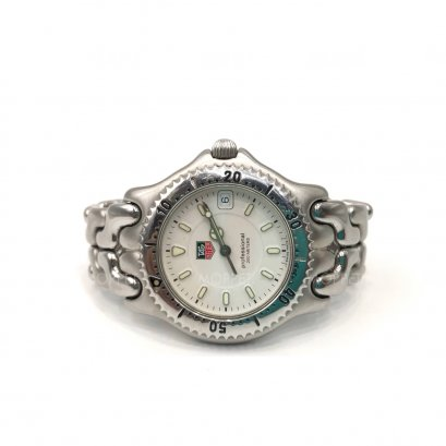 "Used Tag Heuer Professional 38"" in White Dial SHW"
