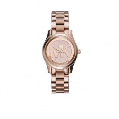 New Michael Kors Watch MK3334W in Rose Gold Hardware
