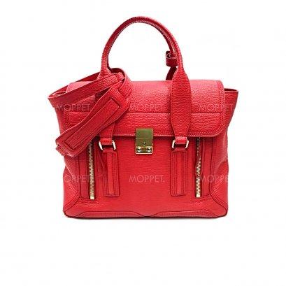 Like New 3.1 Phillip Lim Pashli Medium in Red Leather GHW