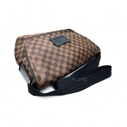 "Used LV Srinter MM"" in Damier Ebene/Blue SHW"