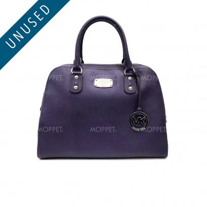 Unused Michael Kors Handbag in Purple Saffiano SHW
