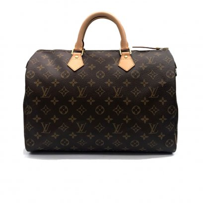 "Like New LV Speedy 35"" in Monogram GHW"