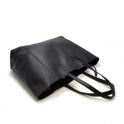 Unused Bottega Veneta Shopping Bag in Black Leather RHW