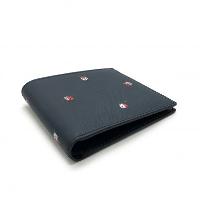 "Unused Paul Smith Men""s Wallet in Midnight Leather"