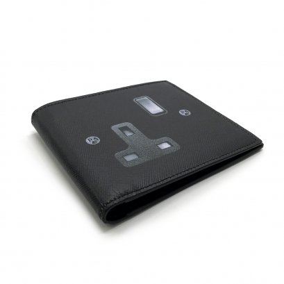 "Unused Paul Smith Men""s Wallet in Black Leather"