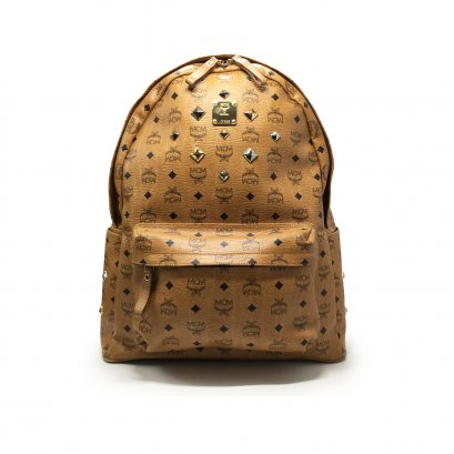 Used MCM Backpack Large in Visetos GHW