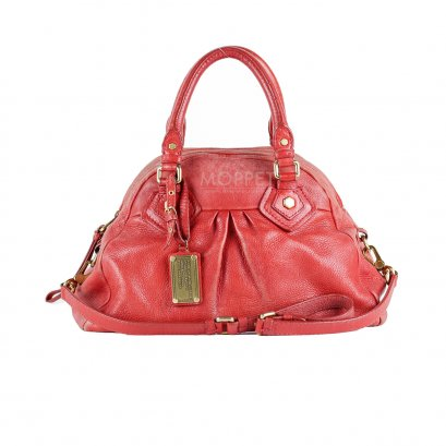 Used Marc By Marc Jacobs Handbag in Red Leather GHW