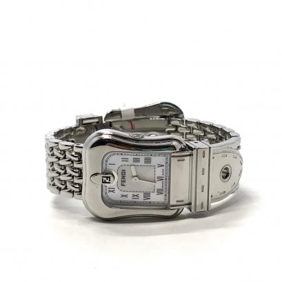 Unused Fendi Orologi Lady Watch in White Dial SHW