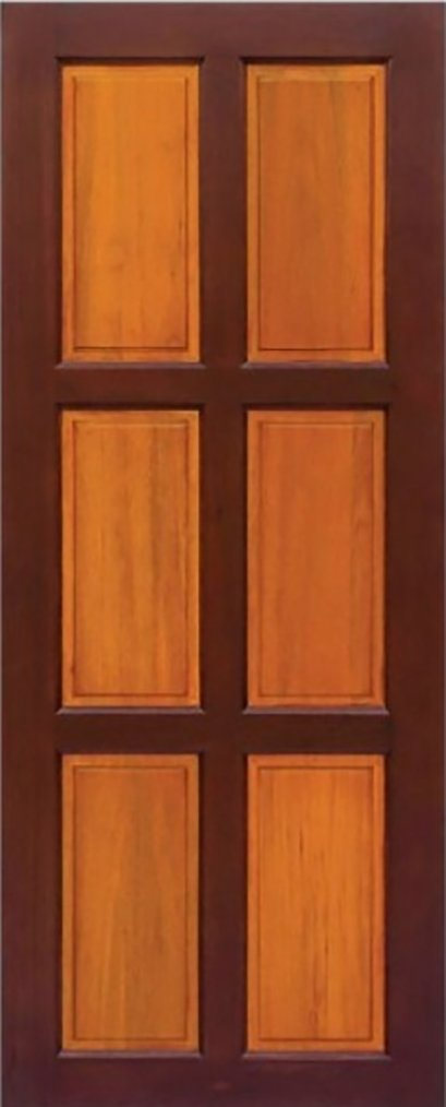 ประตูไม้จริง R26