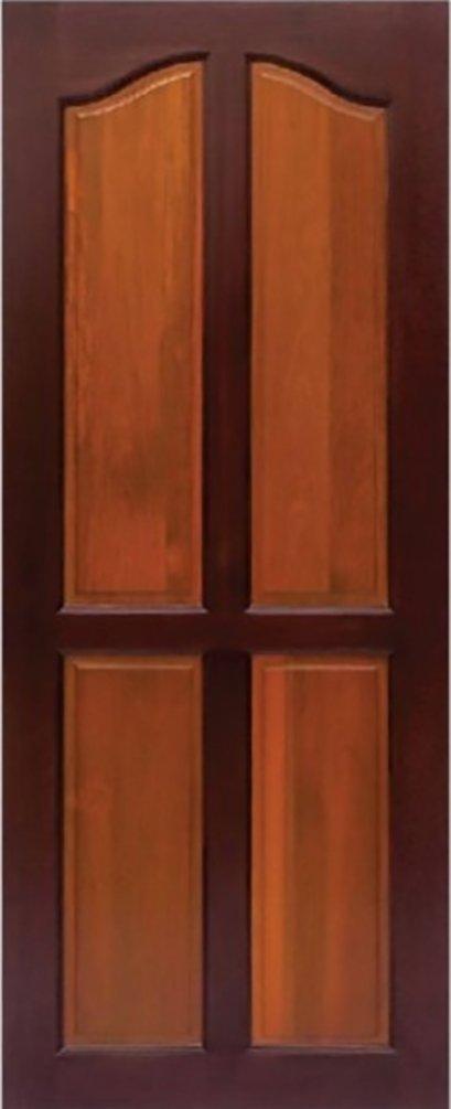 ประตูไม้จริง B7