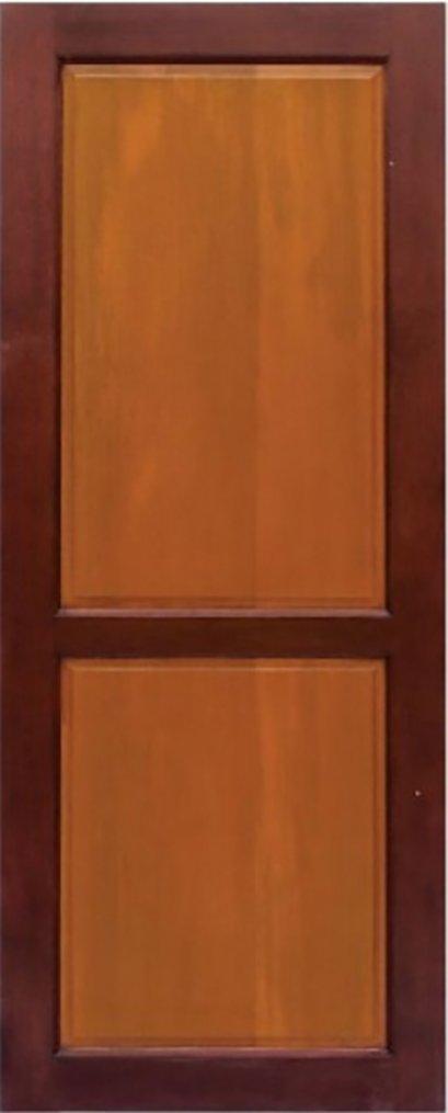 ประตูไม้จริง B5